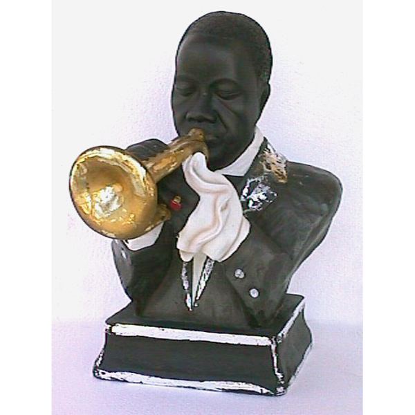 Singer Trumpet Louis Armstrong