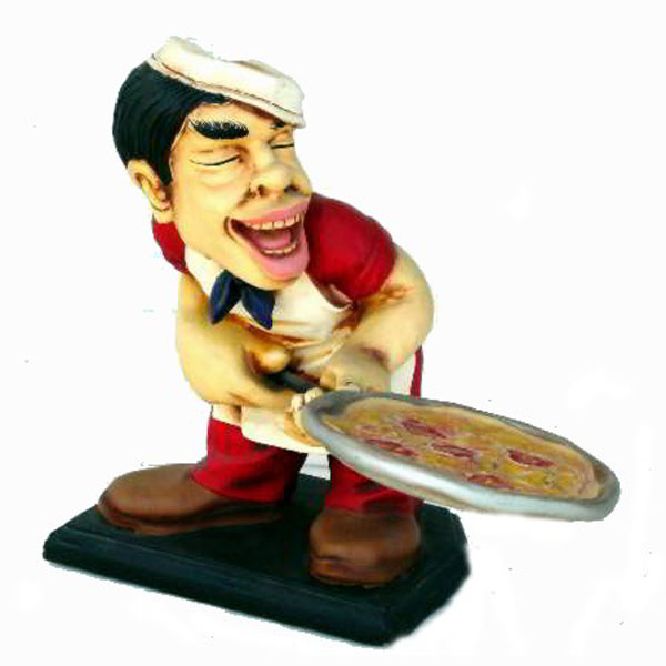 Pizza Chef Statue