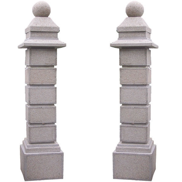 GRANITE GATE POST