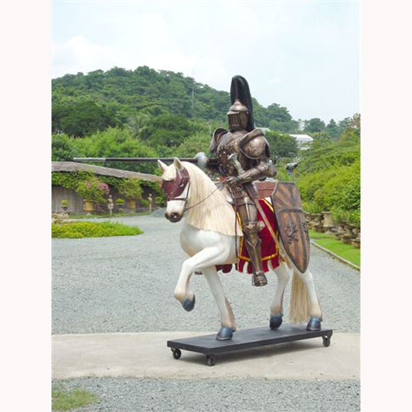 Medieval Knight on a Horse