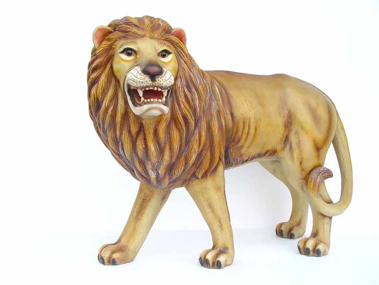 Lion Statue - Click Image to Close