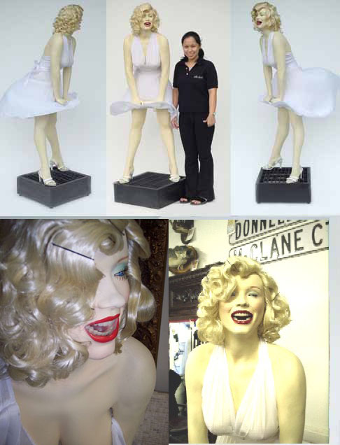 Marilyn Monroe Life Size Statue