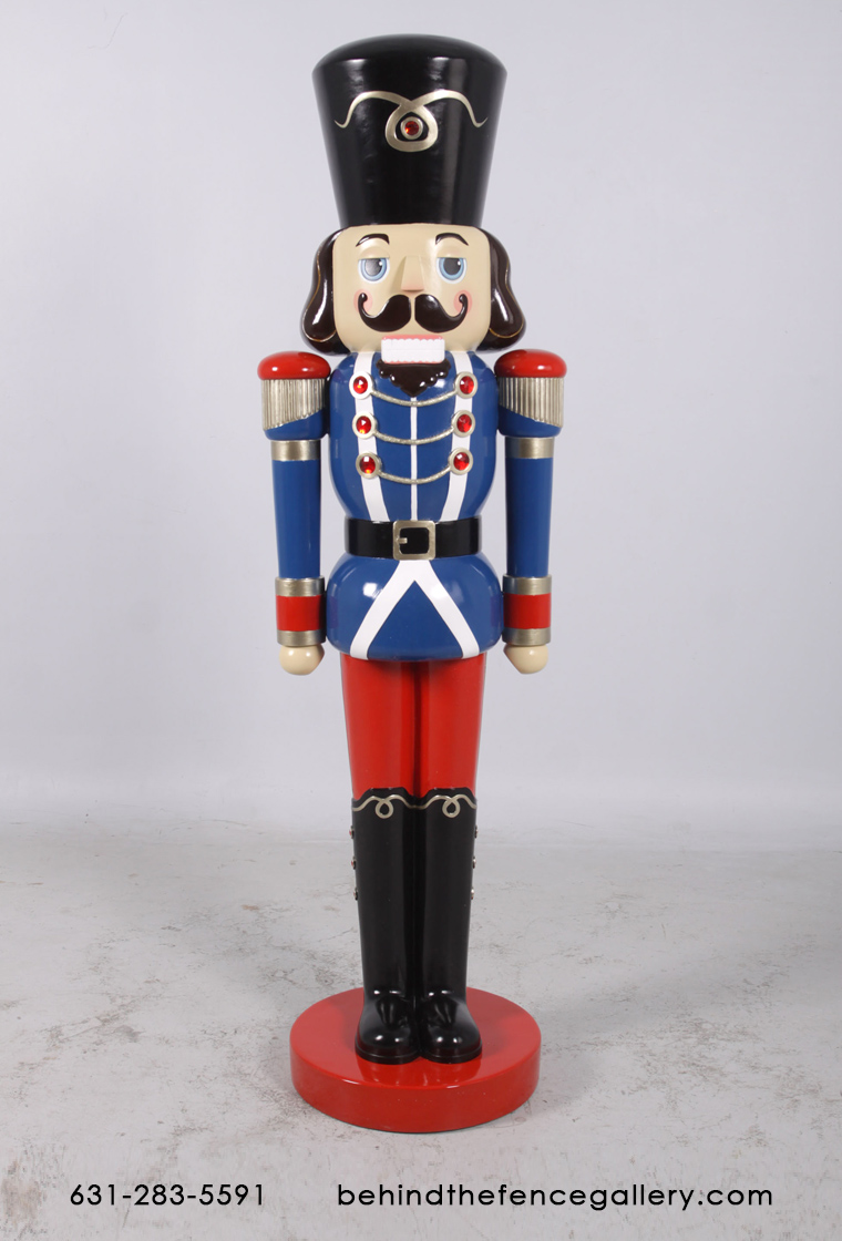 6 FT. Christmas Nutcracker Life Size Statue