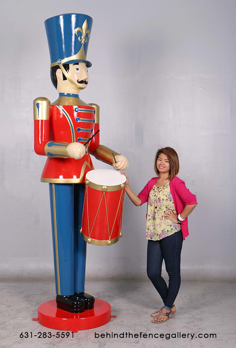 9 ft. Toy Soldier with Drum
