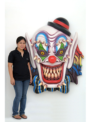 Scary Clown Wall Decor