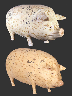 Gloucester Old Spot Pig (Small Size & Large Size)