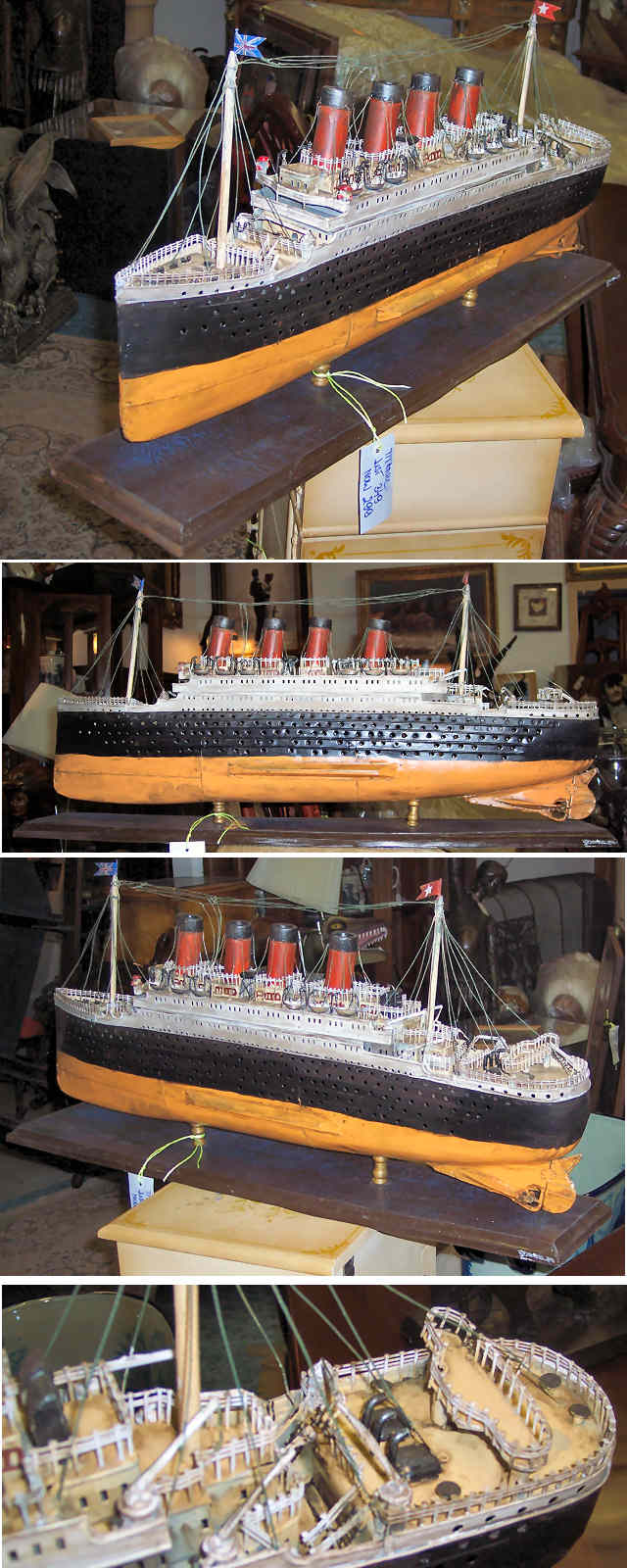 "Tin Model of ""Titanic"""