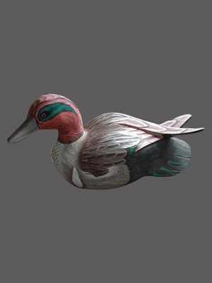 Hand Made Wood Duck