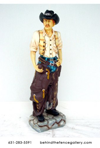 CowboyStatue - 6ft