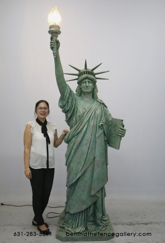Statue of Liberty Figurine -8ft Tall