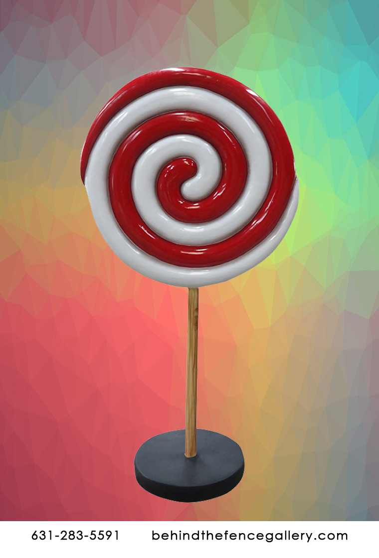 Mini Twirl Lollipop Statue
