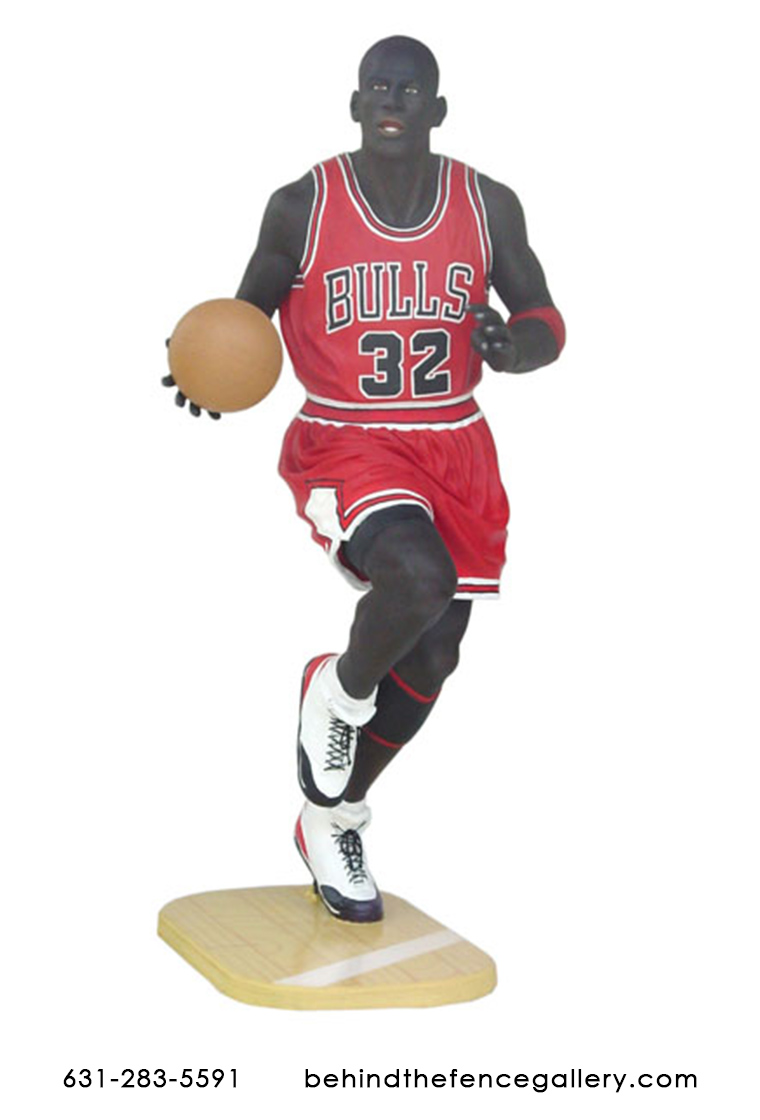 Basketball Player Statue - 6 ft