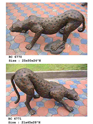Bronze Cheetah ( each )