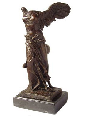 Bronze Nike of Samothrace
