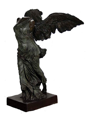 Bronze Nike Winged Victory