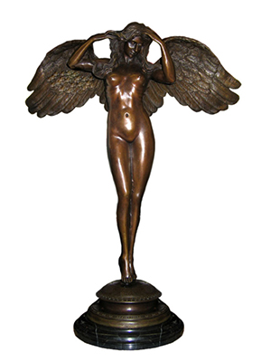 Bronze Winged Woman