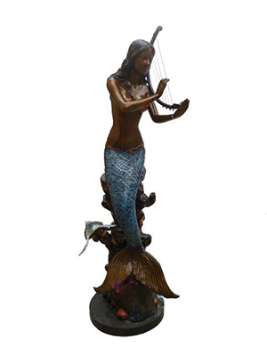 Bronze Melody Mermaid