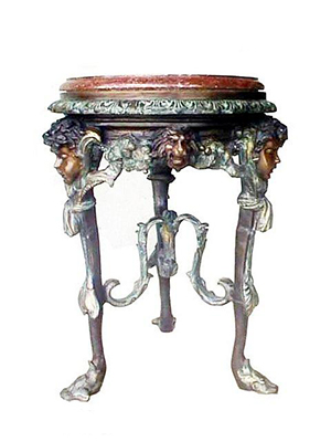 Cherub Table 2 pc Set (Marble Top)
