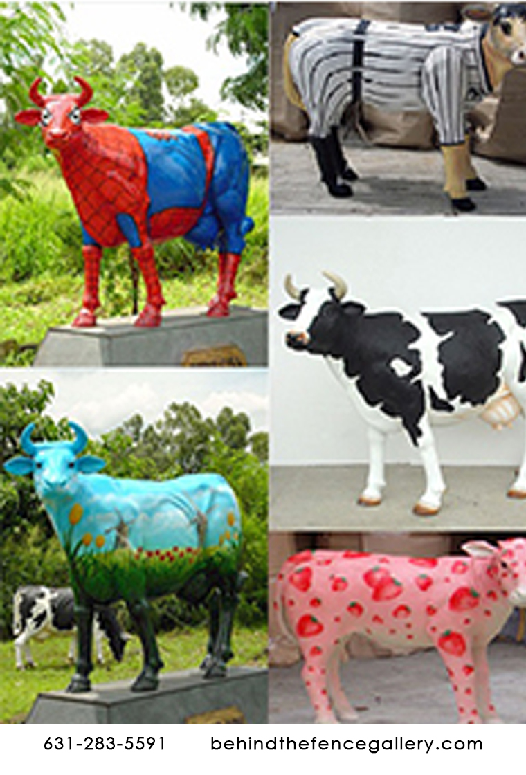 Custom Painted Cows Starting At 3499.99