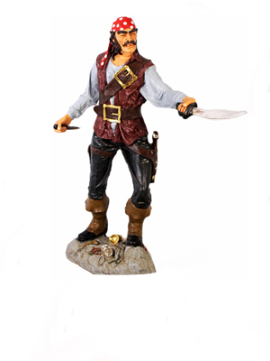 Pirates Nautical Statues