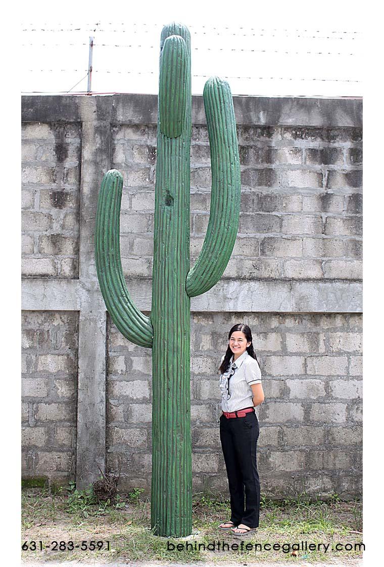 Saguaro Cactus Statue 13ft saguaro cactus [FIB110022H