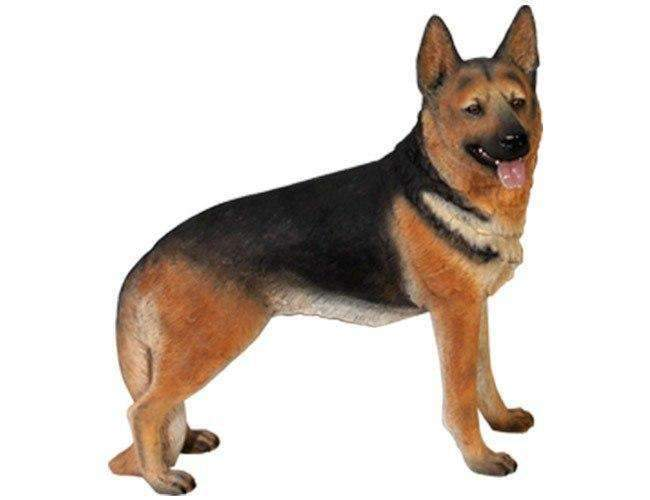 German Shepherd Statue