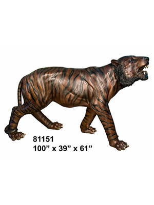 Bronze Giant Tiger ( Life-size )