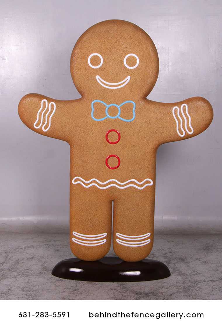 Gingerbread Man 6ft. Statue