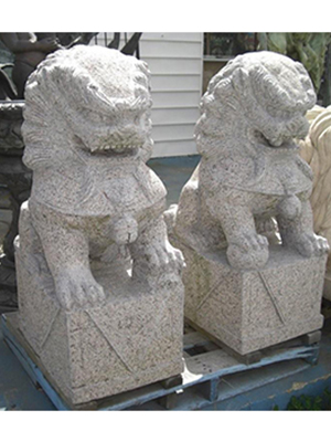 Granite Foo Dogs