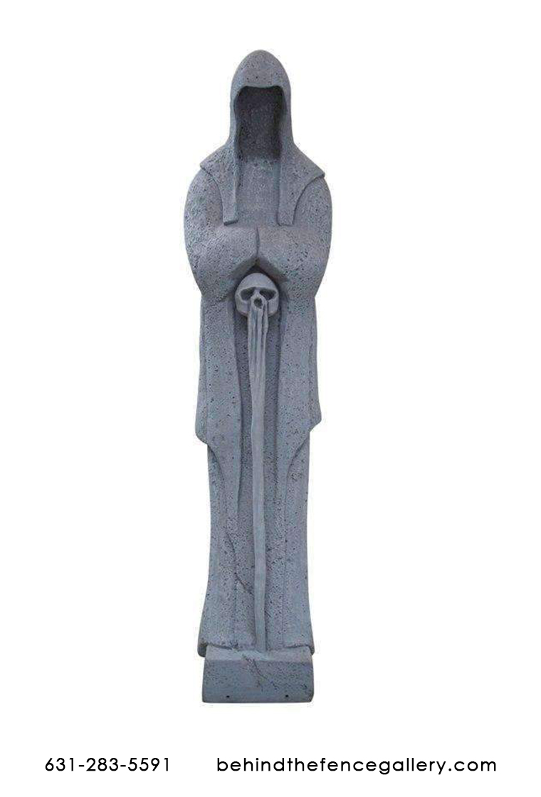 Grave Reaper Statue - Click Image to Close