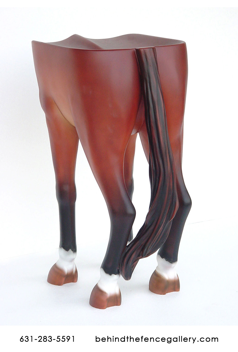 Horse Bar Stool Horse Counter Bar Stool Life Size