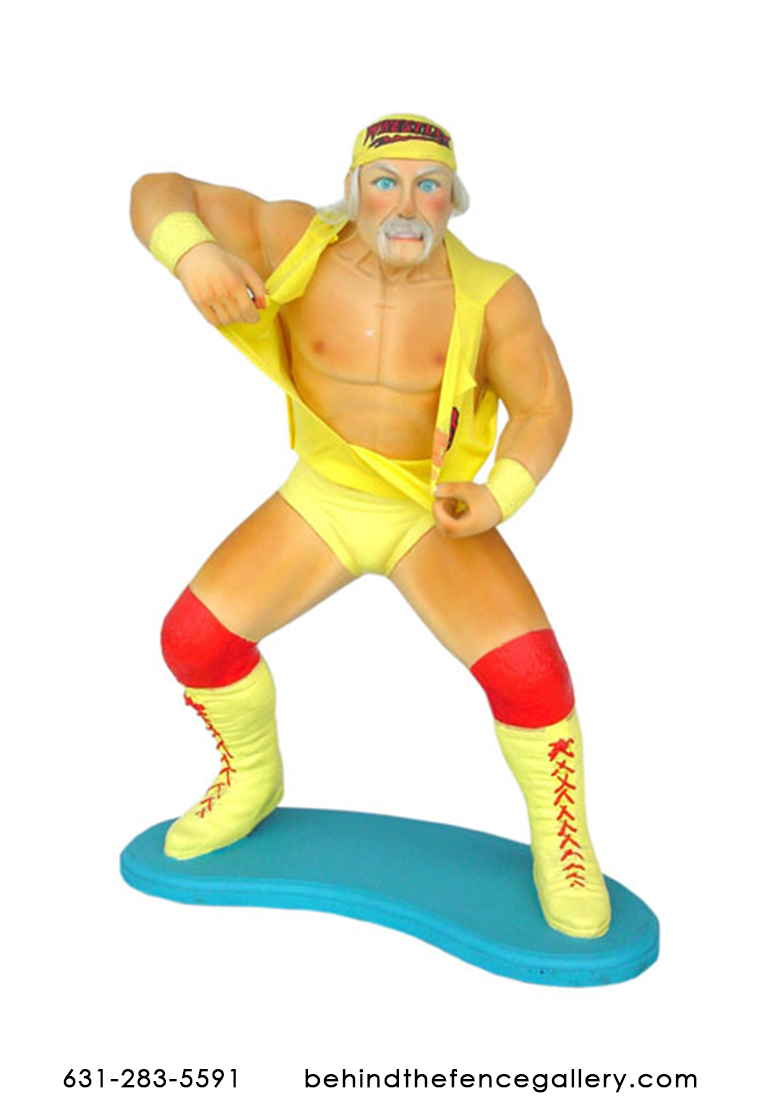 Hulk Hogan Statue - 3 ft.