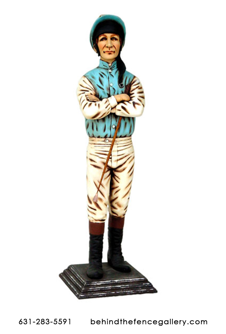 Female Jockey Statue