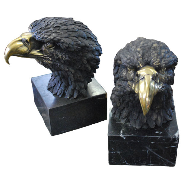 Bronze Eagle BookEnds