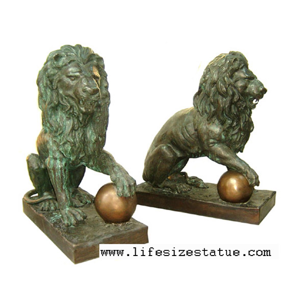 Bronze Lion's ( pair )