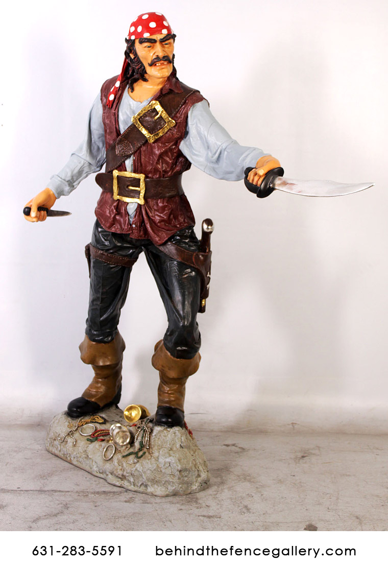 Pirate Cristobal Statue
