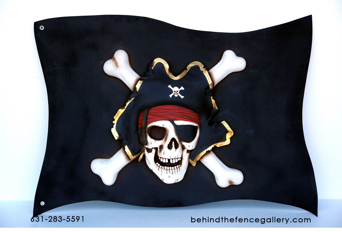 Pirate Flag Wall Decor