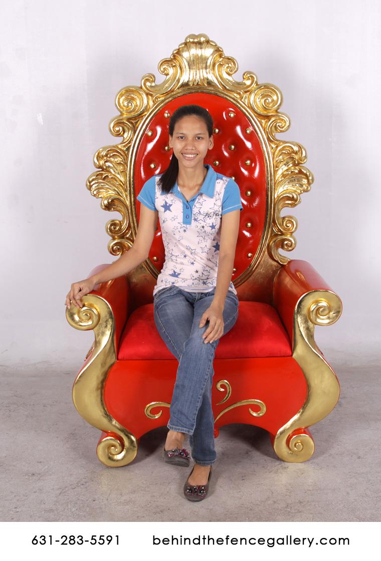 Santa Throne Santa Throne Chair