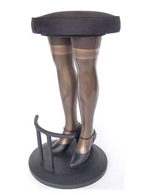 Sexy Legs Stool Statue