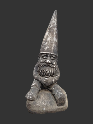 Sitting Gnome - Click Image to Close