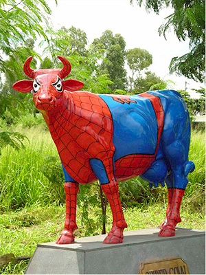 SpiderCow (with or without Horns)