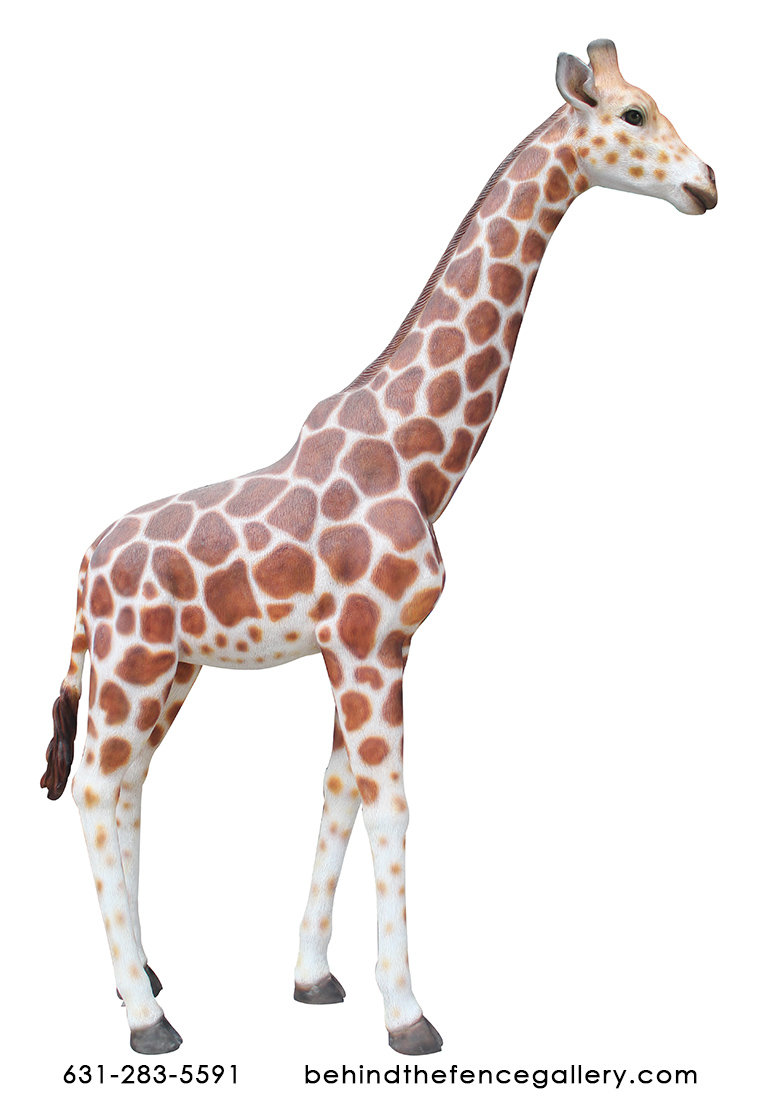 Giraffe Statue - 8ft. - Click Image to Close